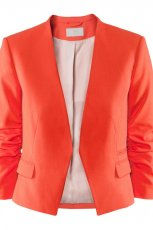 pomara�czowy �akiet H&M - sezon wiosenno-letni