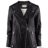 czarna kurtka H&M - sezon wiosenno-letni