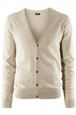 be�owy sweter H&M - trendy wiosenne
