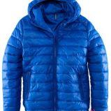 niebieska kurtka H&M - wiosna-lato 2012