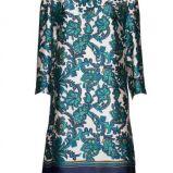 niebieska sukienka Mango w kwiaty - letnia kolekcja