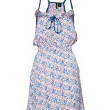 b��kitna sukienka Mango w ��czk� - z kolekcji wiosna-lato 2012