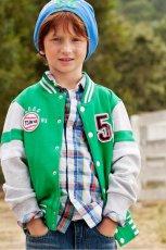 zielona kurtka H&M - trendy wiosna-lato