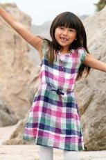 kolorowa sukienka H&M w kratk� - wiosna/lato 2012