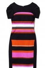 sukienka DanHen w paski - sezon wiosenno-letni