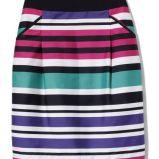 foto 3 - Ubrania i dodatki w kolorowe paski na wiosnę i lato 2012
