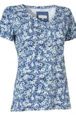 bluzka w kwiaty - sezon wiosenno-letni