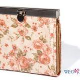 ecru portfel Reserved w kwiaty - wiosna/lato 2012