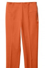 pomara�czowe spodnie H&M z zamkiem z kantem - wiosna/lato 2012