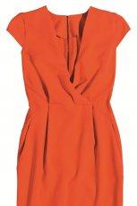 pomara�czowa sukienka Orsay z zamkiem - wiosna/lato 2012
