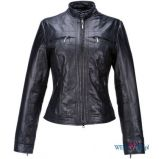 czarna kurtka Ochnik sk�rzana - trendy 2012