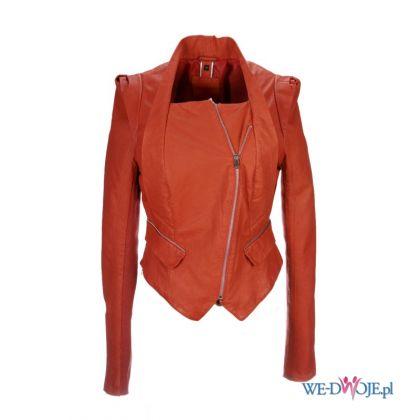 czerwona kurtka Ochnik sk�rzana - wiosenna kolekcja