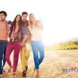 niebieskie spodnie s.Oliver - trendy 2012