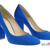 niebieskie p�buty Simple - wiosna/lato 2012