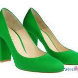 zielone p�buty Simple - wiosna/lato 2012