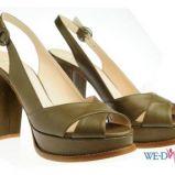 khaki sanda�y Simple na platformie - wiosna/lato 2012