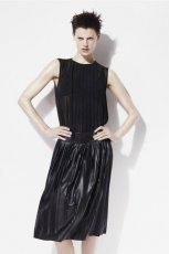 czarna bluzka ZARA - z kolekcji wiosna-lato 2012
