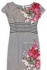 sukienka TARANKO w paski - kolekcja wiosenno/letnia