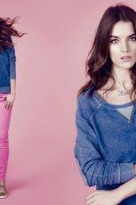 niebieska bluza Stradivarius - trendy 2012