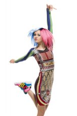 kolorowa sukienka Adidas - sezon wiosenno-letni
