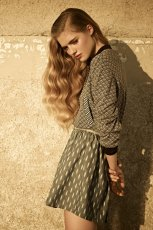 popielata sukienka Pull and Bear - kolekcja wiosenno/letnia