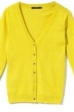 ��ty sweter Reserved z dziurami - z kolekcji wiosna-lato 2012