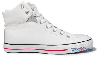 białe trampki Cropp - moda 2012 - Wiosenna kolekcja Cropp