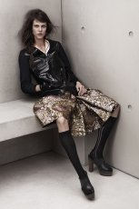 czarna kurtka H&M - wiosna-lato 2012