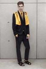 czarny garnitur H&M - wiosna-lato 2012