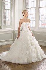 bia�a suknia �lubna Mori Lee w bia�e r�e - trendy 2012