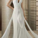 bia�a suknia �lubna White One - 2012