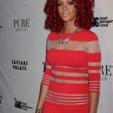 Rihanna, czerwone loki, New Years Eve 2011