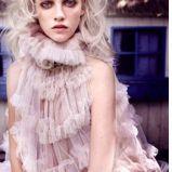 Wyj�tkowe d�ugie w�osy blond fale trendy