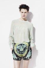 seledynowa bluzka ZARA - z kolekcji wiosna-lato 2012