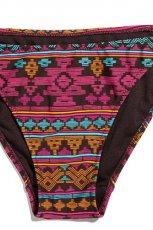 kolorowe bikini Reserved we wzorki - z kolekcji wiosna-lato 2012