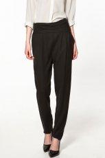 czarne spodnie ZARA - z kolekcji wiosna-lato 2012