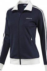 granatowa bluza Adidas - moda wiosna/lato