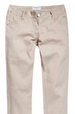 ecru spodnie Reserved - z kolekcji wiosna-lato 2012
