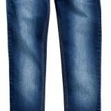 granatowe spodnie Reserved jeansowe - z kolekcji wiosna-lato 2012