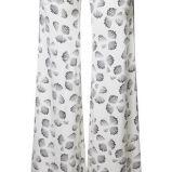 bia�e spodnie Simple we wzory - z kolekcji wiosna-lato 2012