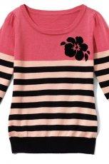 kolorowy sweter Mohito w paski - z kolekcji wiosna-lato 2012