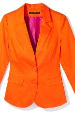 pomara�czowa marynarka Mohito - trendy wiosenne