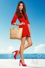 czerwone cz�enka Prima Moda - wiosna/lato 2012