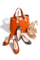 niebieskie baleriny Prima Moda - wiosna/lato 2012