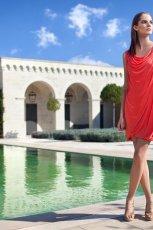 czerwona sukienka Tatuum - trendy wiosna-lato