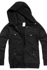 czarna kurtka Cropp - z kolekcji wiosna-lato 2012