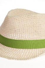 bia�y kapelusz Stefanel - wiosna/lato 2012