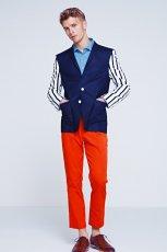 pomara�czowe spodnie H&M - wiosna 2012