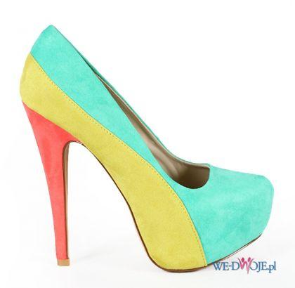 kolorowe cz�enka Stylowe buty - wiosna/lato 2012