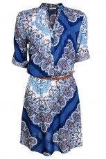 sukienka Camaieu z brokatem - wiosna/lato 2012